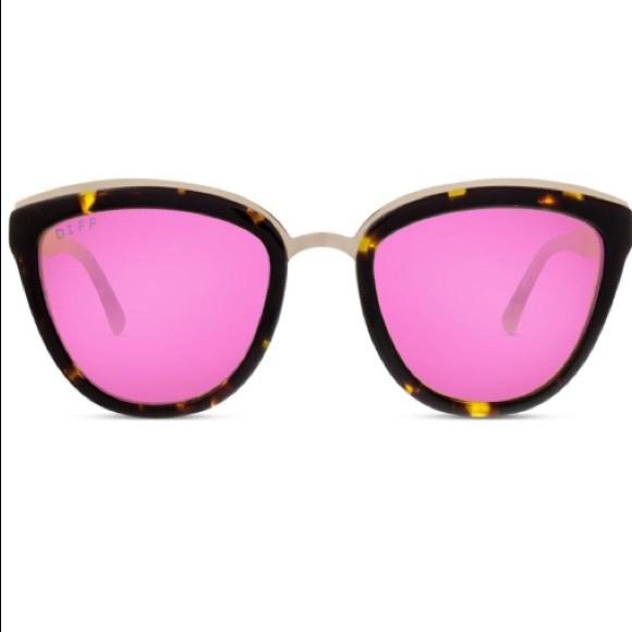 f5fd1ddaaac Diff Eyewear Accessories - Diff eyewear Rose Tortoise Polarized Pink